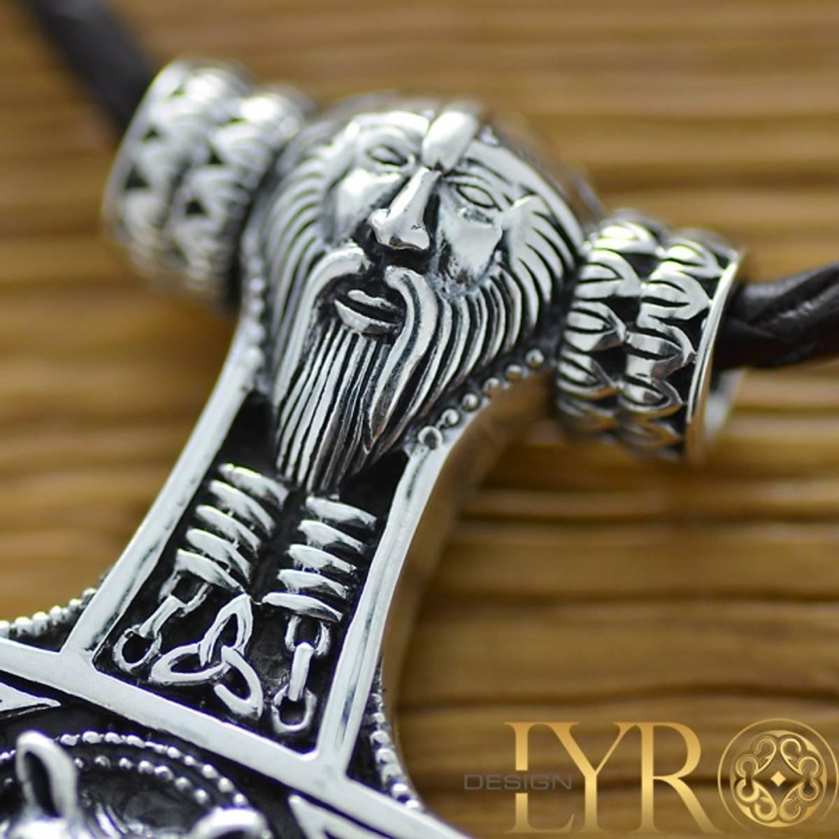 Torshammer Vikinghode - Sølvanheng
