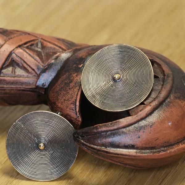 Bilde av Spiral Brosje - Bronse