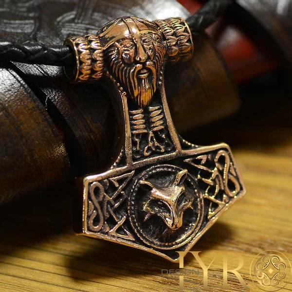 Bilde av Torshammer Vikinghode - Bronse