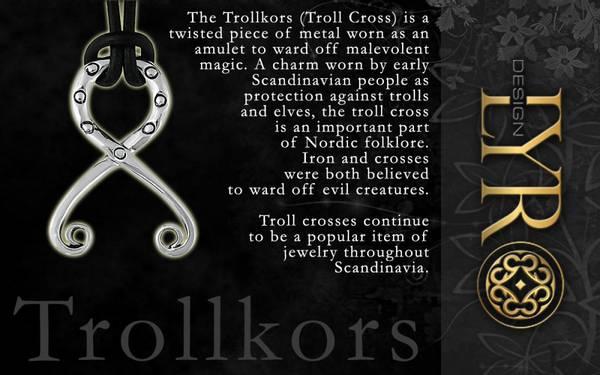 Bilde av Trollkors - Sølv